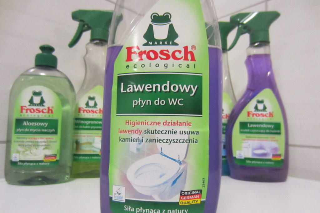 Frosch Lawendowy - płyn do WC